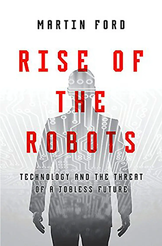 Book cover - rise of the robots